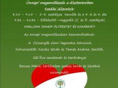 program marcius 15 1