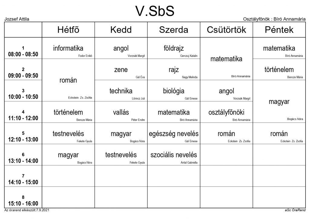 V. SbS